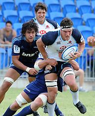 Whangarei-Rugby, Super warm up, Blues v Waratahs, February 09