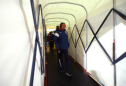 Bobby Reid of Bristol City arrives at the Macron Stadium ahead of the fixture with Bolton Wanderers - Mandatory by-line: Robbie Stephenson/JMP - 02/02/2018 - FOOTBALL - Macron Stadium - Bolton, England - Bolton Wanderers v Bristol City - Sky Bet Championship