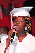 The senior ensemble performs during the Trotwood-Madison High School commencement at the Victoria Theatre in downtown Dayton, May 29, 2012.