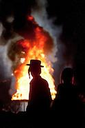 2014 Lag Baomer bonfire in Kiryas Joel