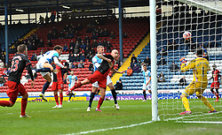 Blackburn Rovers's Rudy Gestede scores his team's second goal - Photo mandatory by-line: Richard Martin Roberts/JMP - Mobile: 07966 386802 - 24/01/2015 - SPORT - Football - Blackburn - Ewood Park - Blackburn Rovers v Swansea City - FA Cup Fourth Round