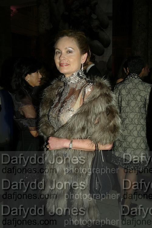 LULETTE MONBIOT, Women for Women International UK Gala Evening. V. & A. 29 April 2008.  *** Local Caption *** -DO NOT ARCHIVE-© Copyright Photograph by Dafydd Jones. 248 Clapham Rd. London SW9 0PZ. Tel 0207 820 0771. www.dafjones.com.