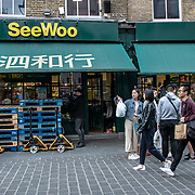 SeeWoo in London Chinatown Sweet Tooth Cafe and Restaurant at Newport Court and Garret Street on 15 June 2019, UK.