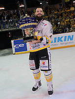 Victoire Rouen / Joie Antonin Manavian - 25.01.2015 - Rouen / Amiens - Finale Coupe de France 2015 de Hockey sur glace<br />