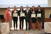 First Place, Ethics Case Competition. ©Ohio University/ Photo by Kaitlin Owens