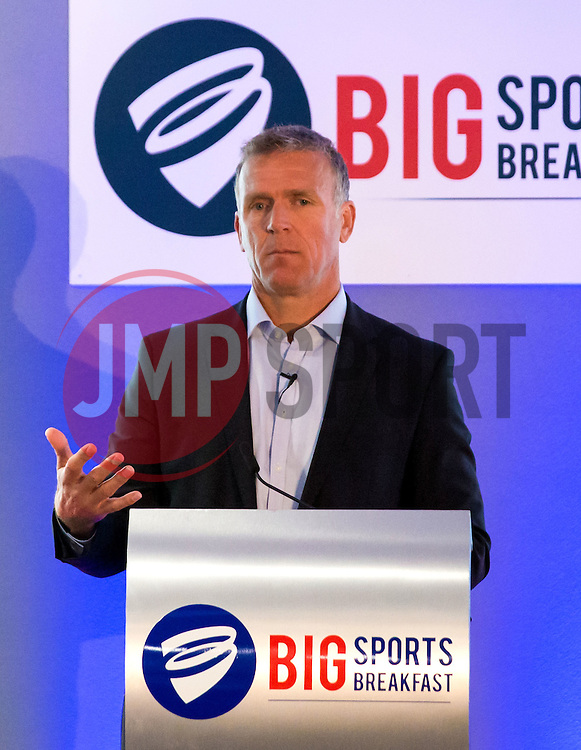 Alec Stewart gives a talk at the Big Breakfast - Mandatory by-line: Robbie Stephenson/JMP - 27/05/2016 - PR - Ashton Gate - Bristol, England - Bristol Sport Big Breakfast Alec Stewart