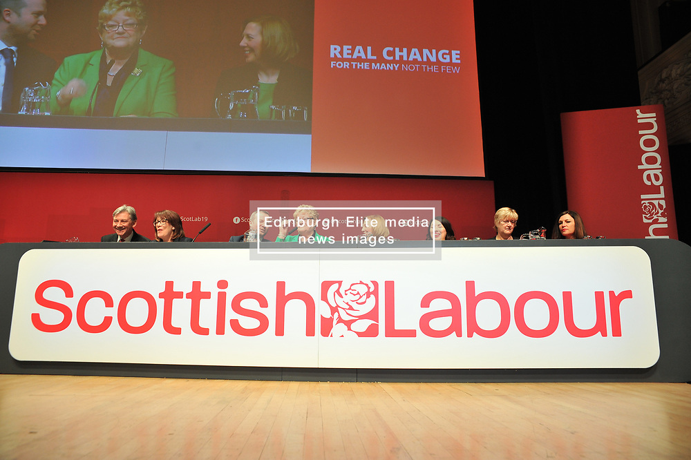The Scottish Labour Party spring conference opened in Dundee on Friday, where Scottish Labour leader Richard Leonard joined delegates and party activists.<br /> <br /> <br /> © Dave Johnston / EEm