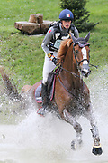 Vegas Des Boursons ridden by Maxime Livio in the Equi-Trek CCI-L4* Cross Country during the Bramham International Horse Trials 2019 at Bramham Park, Bramham, United Kingdom on 8 June 2019.