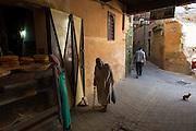 Inside the ancient Medinah of Meknes