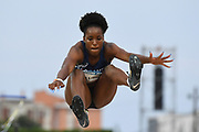 Yanis David (FRA) competes on Women's Long Jump final during the Jeux Mediterraneens 2018, in Tarragona, Spain, Day 6, on June 27, 2018 - Photo Stephane Kempinaire / KMSP / ProSportsImages / DPPI