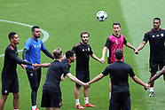UEFA Champions League - Manchester United press conference and training - 17 October 2017