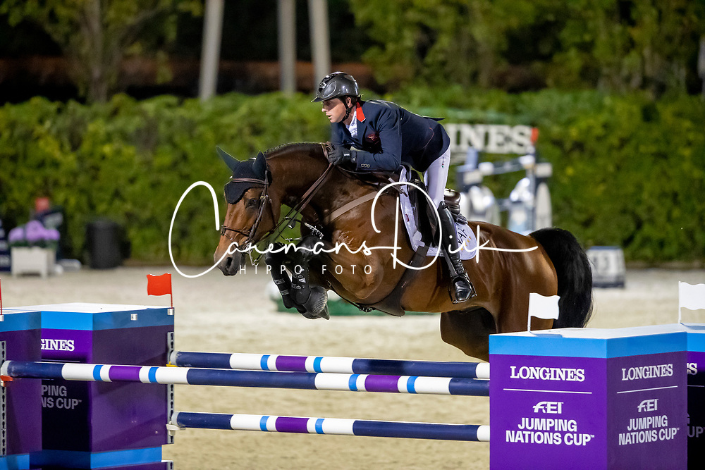 Maher Ben, GBR, F One USA<br /> Longines FEI Jumping Nations Cup Final<br /> Challenge Cup - Barcelona 2019<br /> © Dirk Caremans<br />  05/10/2019
