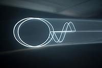 Waves by Spanish artist Daniel Palacios Jimenez. Synthetic Times exhibition at NAMOC, Beijing, China.