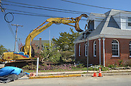 Demolition of Mantoloking Borough Hall