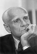Roma 3 Giugno 1986.Alberto Moravia  Autore e Scrittore.Italian author Alberto Moravia (1907 - 1990)
