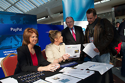 Over 800 jobs available to jobseekers at Employment and Advice Fair in Blanchardstown Shopping Centre. .Joan Burton TD, Minister for Social Protection will today visit the Employment and Advice Fair, which is in Blanchardstown Shopping Centre on Thursday and Friday, 1st and 2nd March. Speaking about the Fair, Minister Burton said: Over 800 jobs are available at the Fair from local, national and international companies including HP Ireland, Symantec Ireland, Penneys, eBay and PayPal. There is also a CV clinic as well as agencies offering advice in a variety of areas such as business start-up, taxation as well as training and education.. .There are approximately 55 stands at the Employment and Advice Fair; 20 of these have been taken by local companies seeking to fill over 660 vacant positions. For example, eBay has 25 available positions, Symantec Ireland has 47 vacancies, PayPal is seeking to fill 50 positions while HP Ireland has 20 vacancies.. .Jobs are available in areas such as catering, software development, java development, warehouse operatives, net development, hospitality, video game testing, testing leads, functional design, SAP (BW) contractors, multi-lingual sales, software development, customer support/technical support, retail sales, sales representatives, automotive operators, photography support professionals and HGV drivers.. .In addition, there are a number of companies and agencies from other countries to advise their own nationals and Irish people who are interested in employment and career development options abroad and these have over 220 positions available in various areas of the construction, IT, health care and other industries.. .Minister Burton commented: I spoke last week at the publication of Pathways to Work about resetting the relationship with employers, with more and better contact to ensure they have access to and are offered the right candidates to fill full-time vacancies. This is a very positive step in that direction. I woul