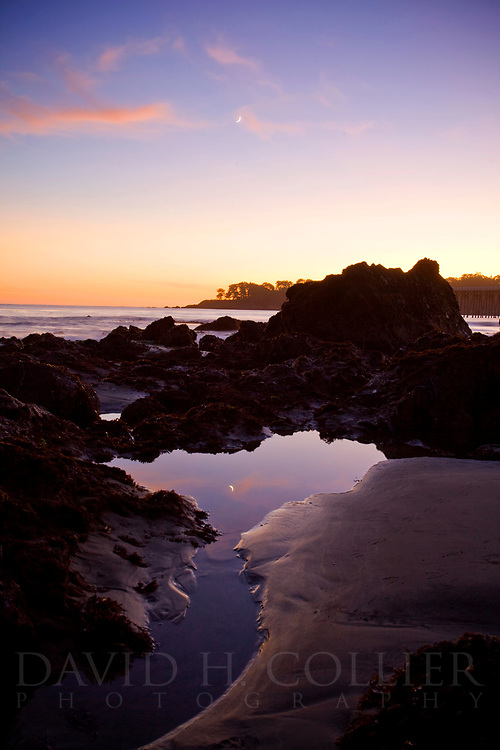 Tide Pools, Hearst Beach, San Simeon, California