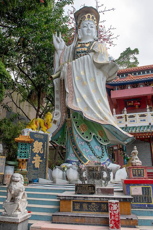 Kwun Yam (Goddness of Mercy) at Repulse Bay, Hong Kong Island, China.