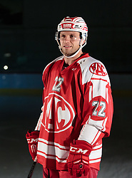 10.08.2015, Red Bull Akademie Liefering, Salzburg, AUT, EBEL, Medien Tag, im Bild Thomas Pöck (EC KAC) // during the Erste Bank Icehockey League Media Day at the Red Bull Football and Icehockey Academy Liefering in Salzburg, Austria on 2015/08/10. EXPA Pictures © 2015, PhotoCredit: EXPA/ JFK