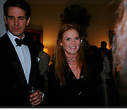 Prince Pavlos of Greece and The Duchess of York. An Evening in honour of Salvatore Ferragamo hosted by the Ambassador of Italy. The Italian Embassy, 4 Grosvenor Square. London W1. 8 June 2005. ONE TIME USE ONLY - DO NOT ARCHIVE  © Copyright Photograph by Dafydd Jones 66 Stockwell Park Rd. London SW9 0DA Tel 020 7733 0108 www.dafjones.com