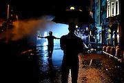 Piazza Taksim centro della protesta del popolo turco contro la politica del Governo che  sfociata in violenti scontri con la polizia.<br /> Istanbul,15 giugno  2013. <br />  Daniele Stefanini /  Oneshot