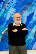 children book illustrator and artist Eric Carle in the Eric Carle museum 2005