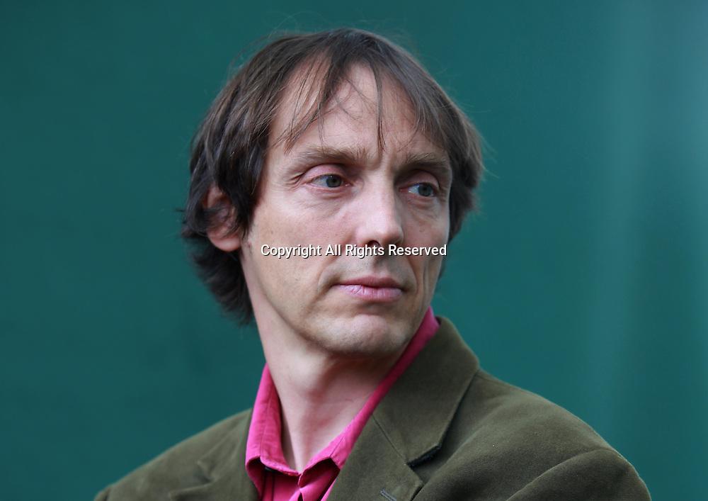 A portrait of Philip Ball at the Edinburgh International Book Festival 2011 in Charlotte Square Gardens<br /> <br /> Pic by Pako Mera