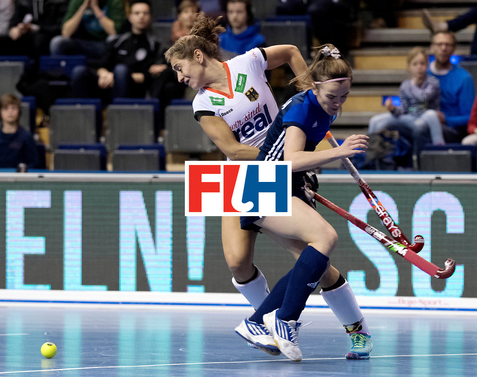 BERLIN - Indoor Hockey World Cup<br /> Women: Germany - Russia<br /> foto: Marie M&auml;vers.<br /> WORLDSPORTPICS COPYRIGHT FRANK UIJLENBROEK