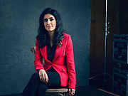 Leila Pirhaji, TED Fellow. TED2019: Bigger Than Us. April 15 - 19, 2019, Vancouver, BC, Canada. Photo: Bret Hartman / TED
