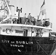 "Reception for Schoolteachers on the ""City of Dublin"".<br /> 11.05.1961"