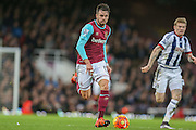 West Ham United defender, on loan from Arsenal, Carl Jenkinson  during the Barclays Premier League match between West Ham United and West Bromwich Albion at the Boleyn Ground, London, England on 29 November 2015. Photo by Simon Davies.