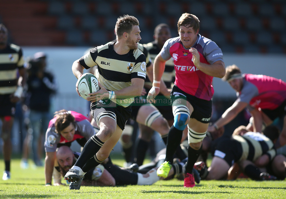 Boland captain Ryan Nel during the Currie Cup premier division match between the Boland Cavaliers and The Pumas held at Boland Stadium, Wellington, South Africa on the 2nd September 2016<br /> <br /> Photo by:   Shaun Roy/ Real Time Images