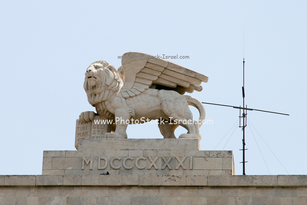 Israel Jerusalem Winged Lion Photostock Israel Licensed Stock