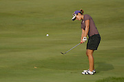 Kimberly Kim in action at the U.S. Women's Amateur at Crooked Stick Golf Club on Aug. 7, 2007 in Carmel, Ind.    ...©2007 Scott A. Miller