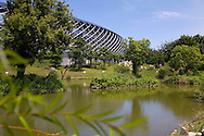 Japanese architect Toyo Ito-designed World Games Stadium, Taiwan's first environmentally friendly sports stadium.