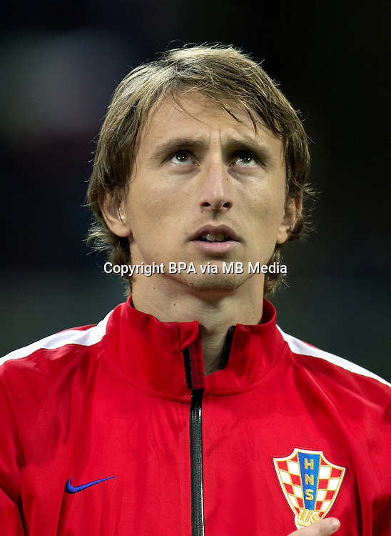 Uefa Euro FRANCE 2016 - <br /> Croatia National Team - <br /> Luka Modric