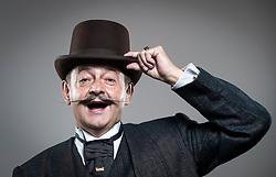 Bernd Hildebrandt attends the fourth British Beard and Moustache Championships at the Empress Ballroom, Winter Gardens, Blackpool.