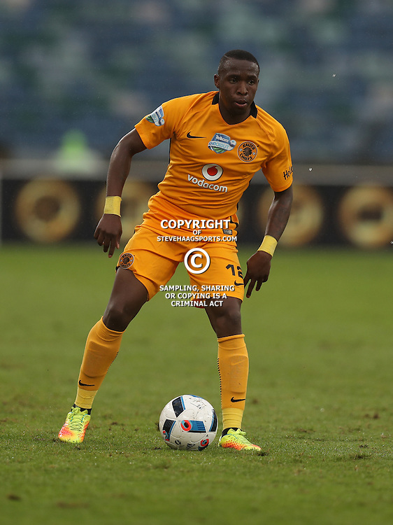 George Maluleka of Kaizer Chiefs during the Telkom Knockout quarterfinal  match between Kaizer Chiefs and Free State Stars at the Moses Mabhida Stadium , Durban, South Africa.6 November 2016 - (Photo by Steve Haag Kaizer Chiefs)