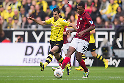 19.10.2013, Signal Iduna Park, Dortmund, GER, 1. FBL, GER, 1. FBL, Borussia Dortmund vs Hannover 96, 9. Runde, im Bild Zweikampf zwischen Henrikh Mkhitaryan (#10 Dortmund), Marcelo (#25 Hannover) // during the German Bundesliga 9th round match between Borussia Dortmund and Hannover 96 Signal Iduna Park in Dortmund, Germany on 2013/10/19. EXPA Pictures &copy; 2013, PhotoCredit: EXPA/ Eibner-Pressefoto/ Kurth<br /> <br /> *****ATTENTION - OUT of GER*****