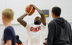 Bristol City's Jay Emmanuel-Thomas - Photo mandatory by-line: Dougie Allward/JMP - Mobile: 07966 386802 - 27/02/2015 - SPORT - basketball - Bristol - SGS Wise Campus - Bristol Flyers v Leeds Force - British Basketball League