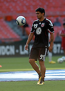DC United defeated Chivas USA 3-2 at RFK Stadium in washington DC on May 29, 2010 to earn their second win of the season. United remains in last place with only 6 points out of 10 games.