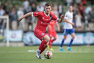 Nicolas Mortensen (FC Helsingør) under kampen i 2. Division mellem HIK og FC Helsingør den 30. august 2019 i Gentofte Sportspark (Foto: Claus Birch).
