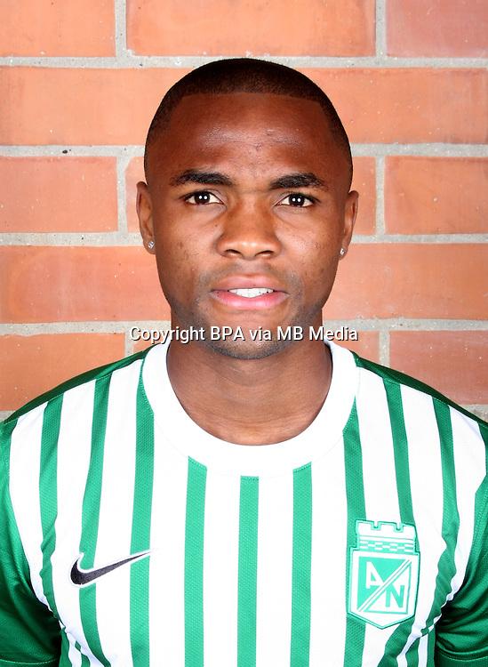 Colombia League - Postobom Liga 2014-2015 -<br /> Club Atletico Nacional Medellin - Colombia / <br /> Miller Mosquera