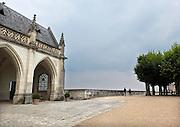 Frankrijk, France, 31-8-2013Loire vallei, kasteel, chateau Amboise staat op wereld erfgoedlijst van Unesco. Centres, Indre et Loire, Loire valley, classified in the world heritage by the Unesco, Amboise castle.Foto: Flip Franssen/Hollandse Hoogte