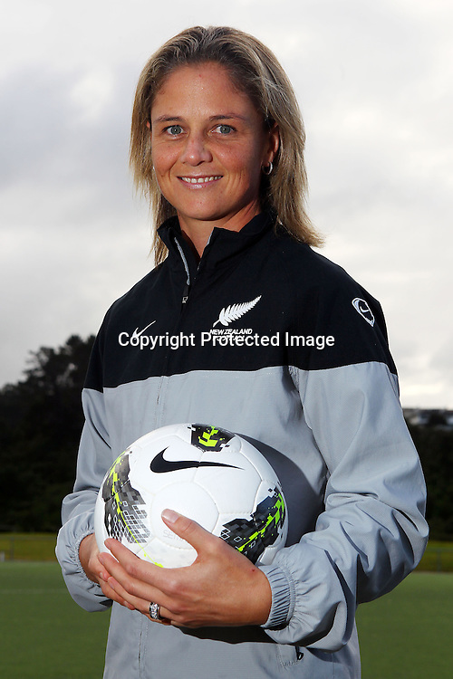 Rebecca Rolls, New Zealand Women's Olympic Football team announcement ahead of the 2012 London Olympic Games. North Harbour Stadium, Albany, Auckland. 29 June 2012. Photo: William Booth/photosport.co.nz