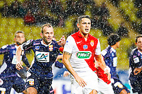 Lucas Ocampos / Olivier Sorlin  - 21.01.2015 - Monaco / Evian Thonon   - Coupe de France 2014/2015<br /> Photo : Sebastien Nogier / Icon Sport