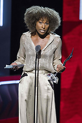 August 6, 2017 - New Jersey, U.S - Recipient, of the Star Power award, ISSA RAE, at the 2017 Black Girls Rock awards show. Black Girls Rock 2017 was held at the New Jersey Performing Arts Center in Newark New Jersey. (Credit Image: © Ricky Fitchett via ZUMA Wire)