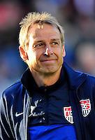 Football International Friendly Matchs 2014 / <br /> Usa vs Korea Republic 2-0   ( StubHub Center Stadium - Carson - LA , Usa ) - <br /> Jurgen Klinsmann - Coach of Usa , During the match between Usa and Korea Republic