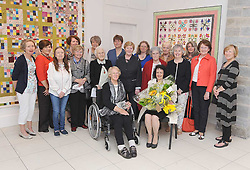 Members of the Octagon Quilters pictured at the opening of 'Silver Threads' their 25th Anniversary Exhibition at the Custom House Studios, Pamela Flanagan as guest speaker performed the official opening.The exhibition continues every day until July 24th 2016,