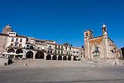 Trujillo main square (Spain)